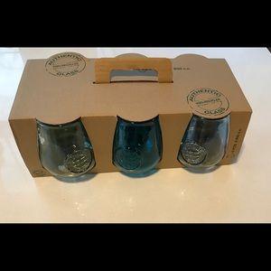 ⭐️NWT⭐️ Set of 6 glasses By Vidros San Miguel